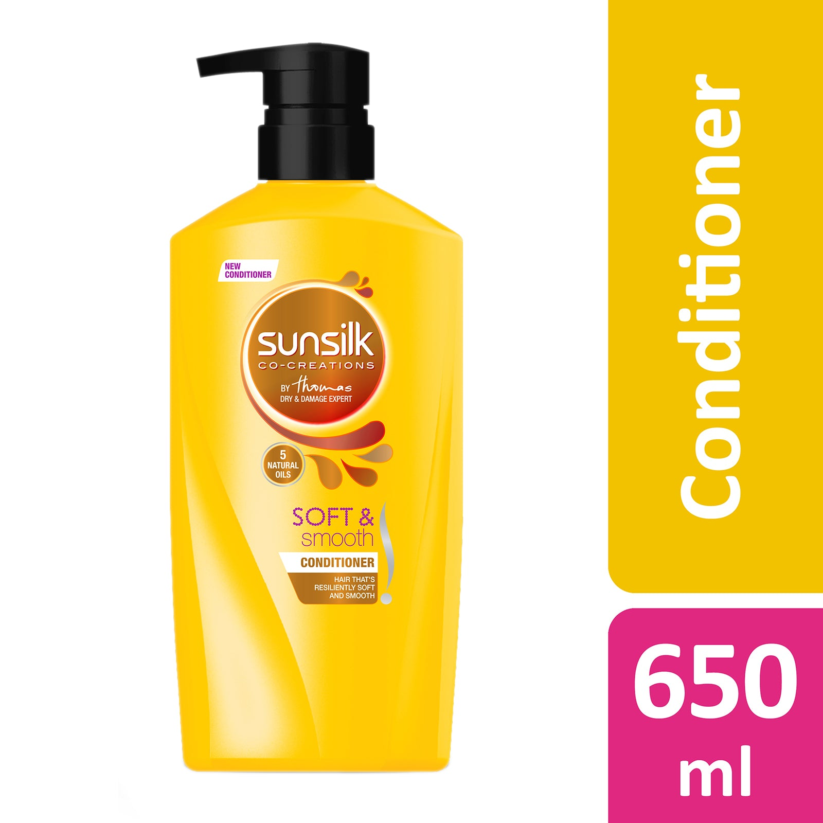 Sunsilk Nourishing Soft And Smooth Conditioner 650 ml