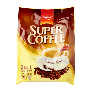 Super Low Fat Less Sugar 3-In-1 Instant Coffee 40 x 16 g