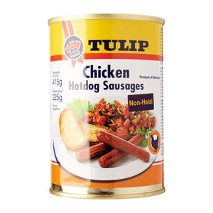 Tulip Chicken Hotdog Sausages 415 g