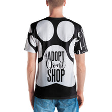 Men's RHMF asymmetrical all-over sublimation print t-shirt - rescueshavemorefun