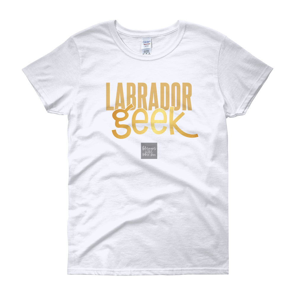Women's Short Sleeve Lab Geek T-shirt
