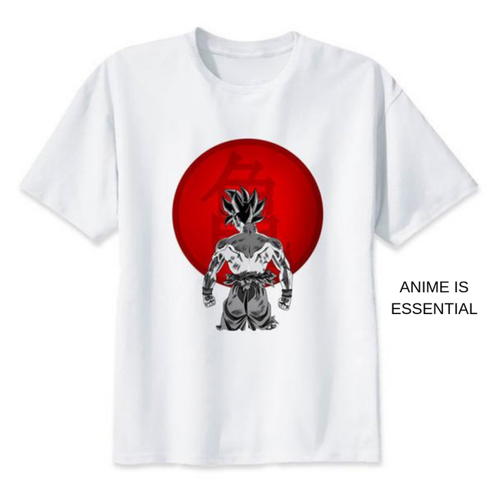 Dragon Ball T- Shirts goku back