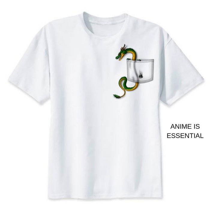 Dragon Ball T- Shirts tiny shenron