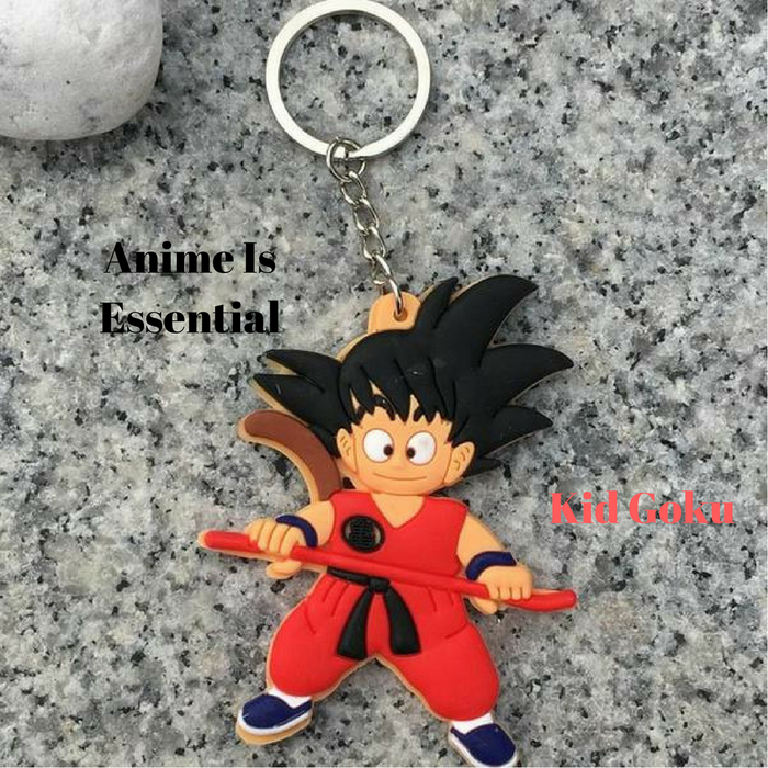 Dragon Ball Character Key Ring/Key Chain Kid Goku