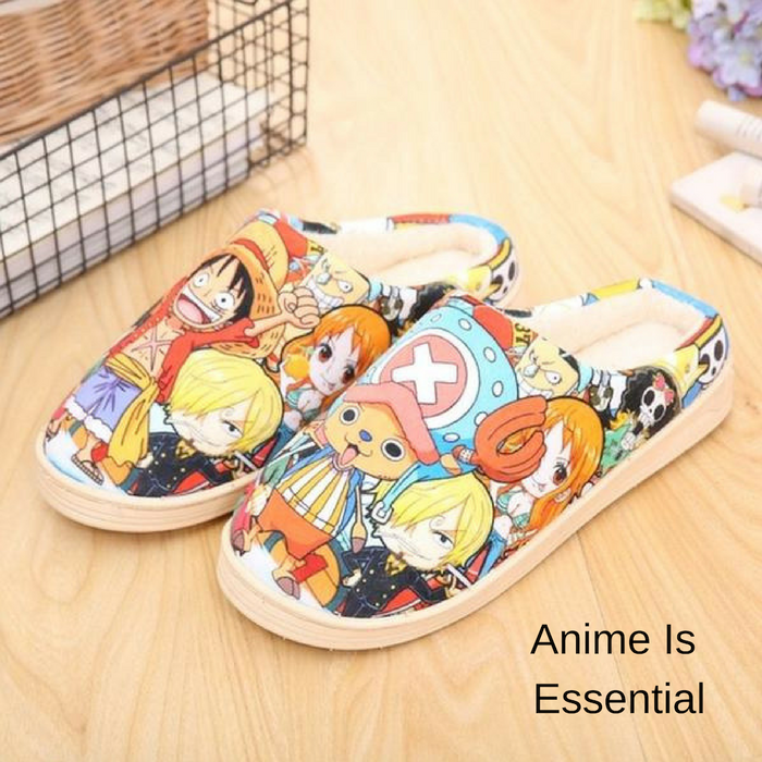 Anime Plush Shoes