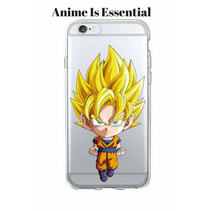 Dragon Ball Phone cases 5 goku ss1 big head