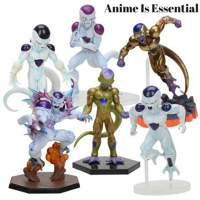 Frieza's Forms Dragon Ball Z And DBS  Figures