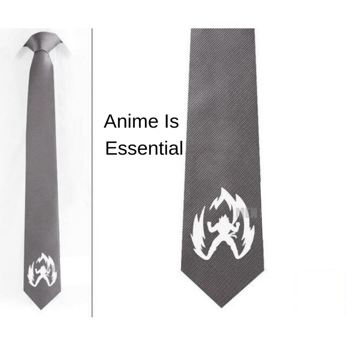 Super Saiyan Neck ties And Cufflinks