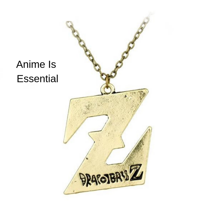 Dragon Ball Z Logo Pedent Necklace
