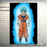 Goku's Transformations Silk Canvas Poster goku ssgss aura