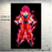 Goku's Transformations Silk Canvas Poster goku ssg aura black