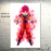 Goku's Transformations Silk Canvas Poster goku ssg aura white