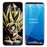 Anime Dragon ball Phone cases for Samsung goku ss1 face