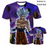 Dragon Ball Super Character T Shirts goku ultra instinct space