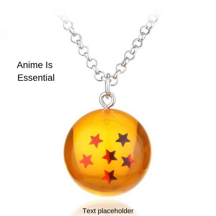 6 Star Dragon Ball Necklace