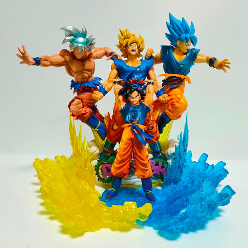 The Goku's Transformations Figures