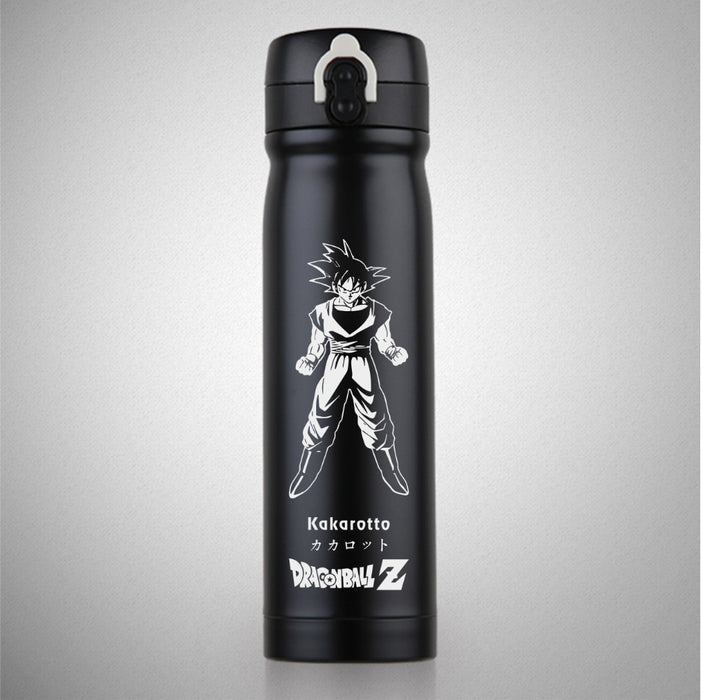 Black And White Dragonball Flasks