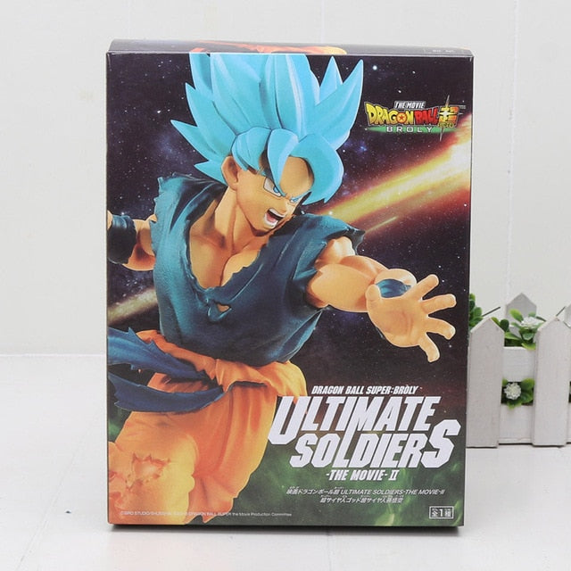 Dragonball Super Broly Ultimate Soldiers Figures