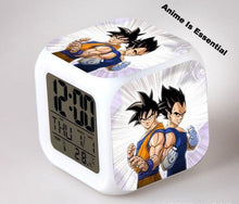 The Z Clock x  Goku x Vegeta