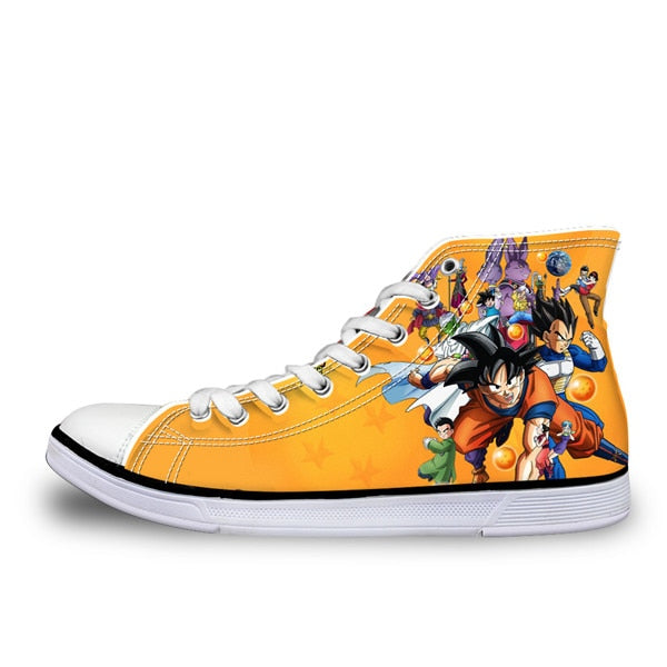 The Dragonball High Tops