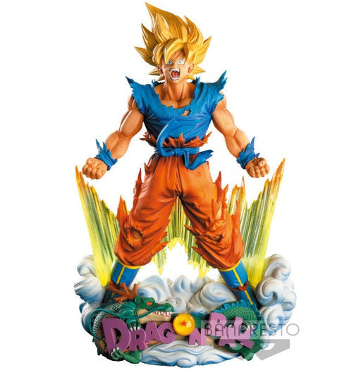 Dragon Ball Super Saiyan Goku Statue