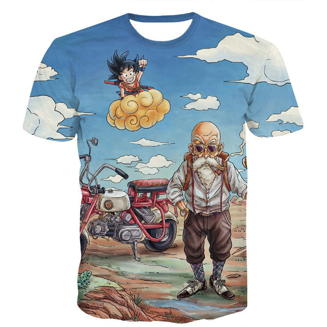 Huge Character Dragon Ball T-Shirt