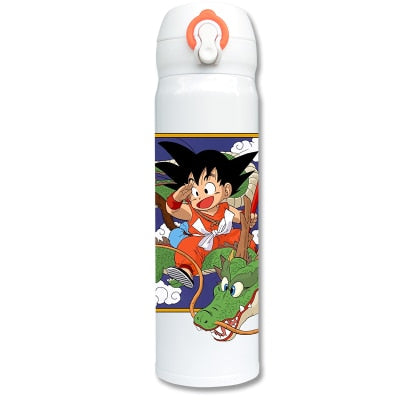 OUSSIRRO Super Hero Avenger Dragon Ball Z DBZ Infinity Mugs  Pure Color Thermos Mugs Cup Kitchen Tool Gift