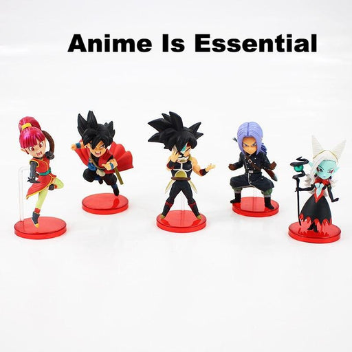 5pcs/lot SDBH Super Dragon Ball WCF Heroes 7th Anniversary