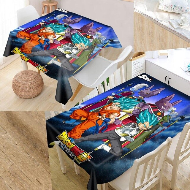 The dragonball tablecloth