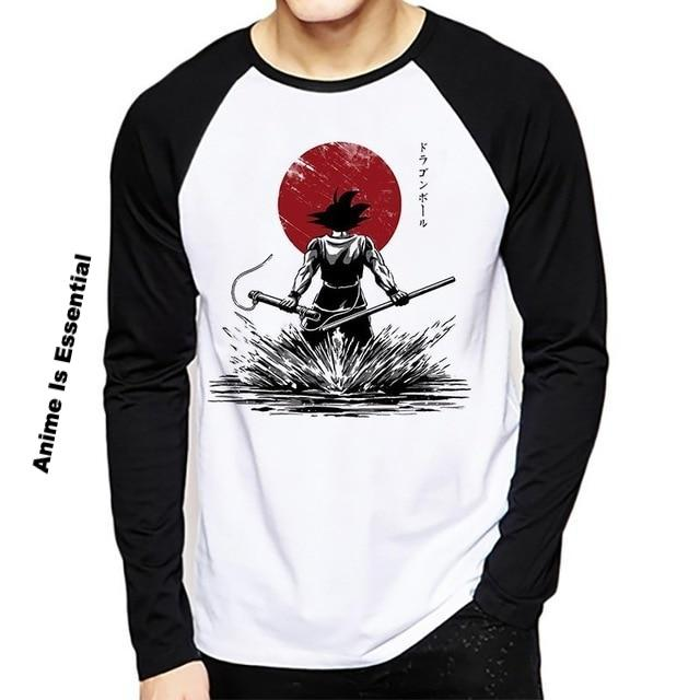Long Sleeve Dragon ball Z shirts