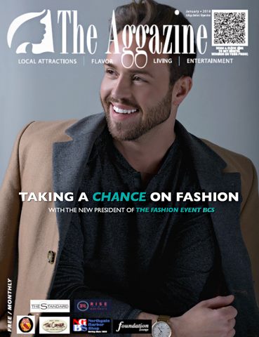 Chance Okonski on the cover of The Aggazine