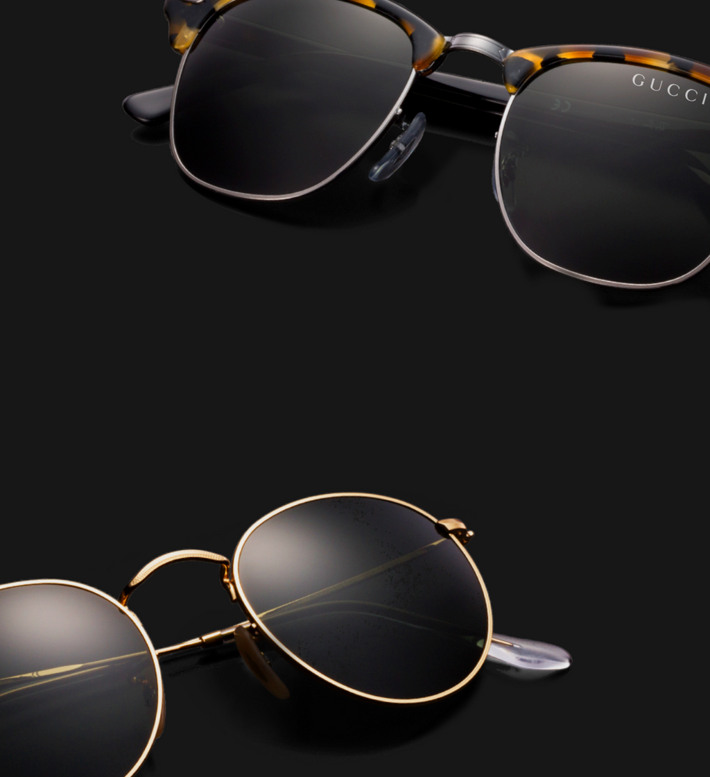 GUCCI EYEWEAR available at KIE Men's Shoppe