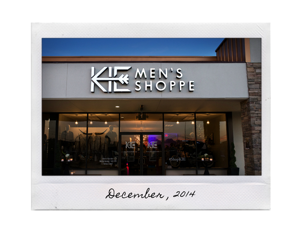 KIE Men's Shoppe College Station Texas Chance Okonski