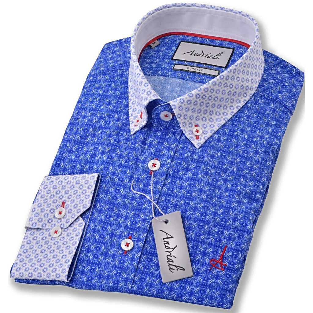 Signature Blue Dress Shirt
