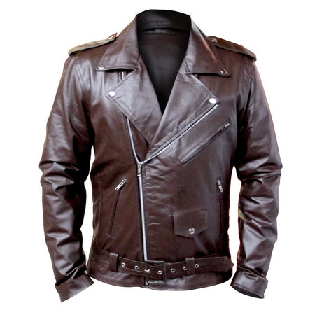 Brando Leather Jacket (Brown)