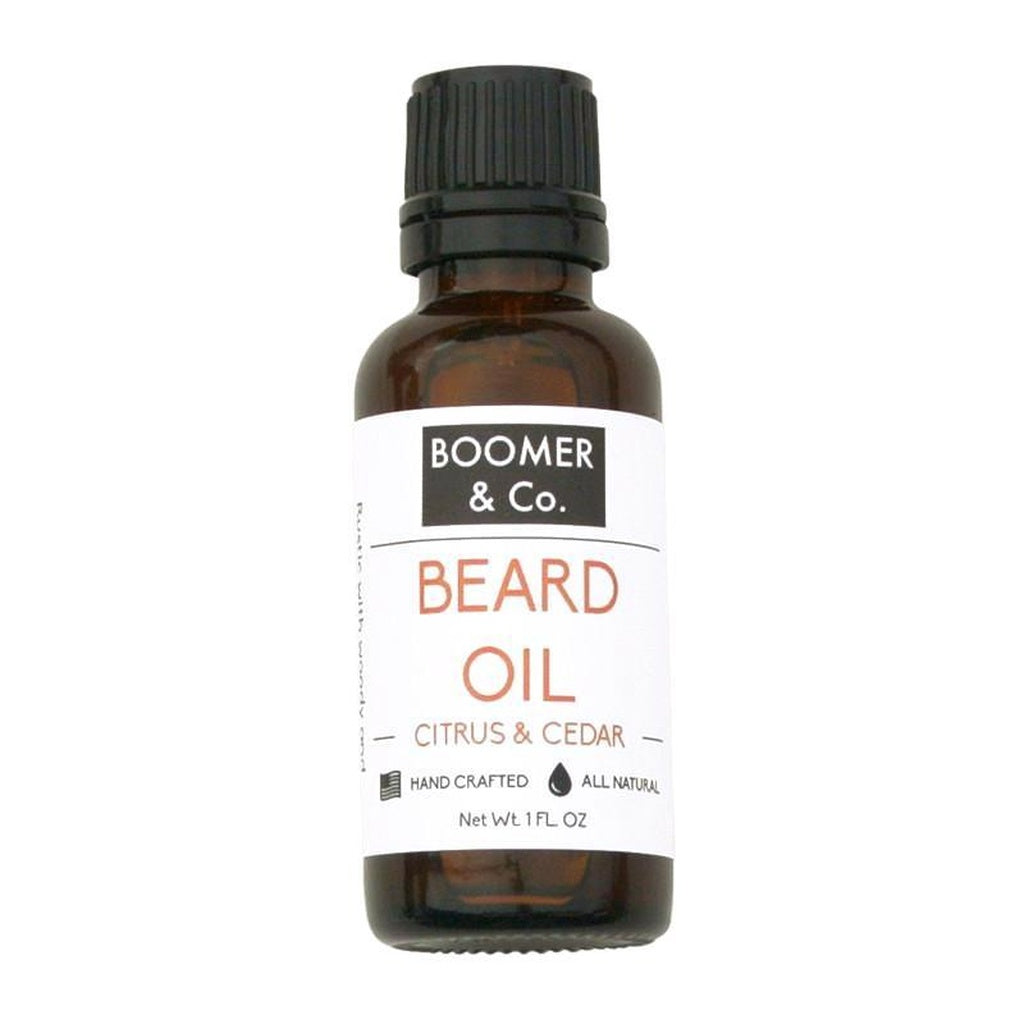 Citrus + Cedar Beard Oil