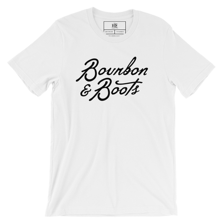 Bourbon & Boots Tee from The KIE Kollection