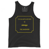 Champagne Always Tank Top from The KIE Kollection