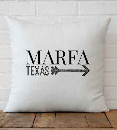 Marfa Texas pillow from The KIE Kollection