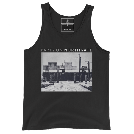 Party on Northgate Tank Top from The KIE Kollection