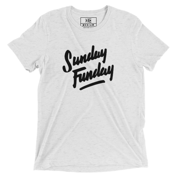 Sunday Funday Tee from the KIE Kollection