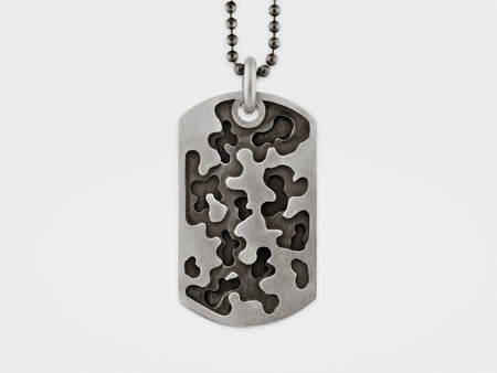 Camouflage Dog Tag