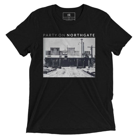 Party On Northgate T-shirt by The KIE Kollection