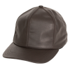 Leather Dad Cap