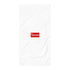Supreme Texan Beach Towel