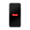 Supreme Texan iPhone X case by the KIE Kollection