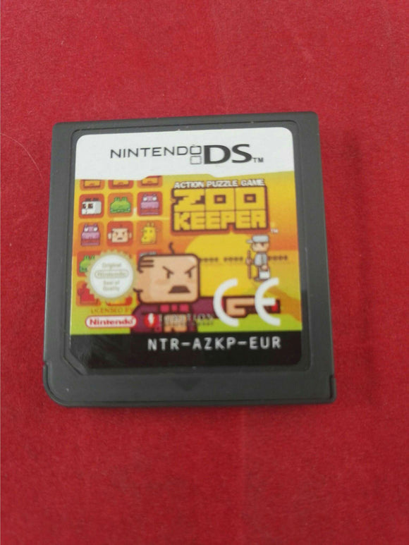 Zoon Keeper Nintendo DS Game Cartridge Only