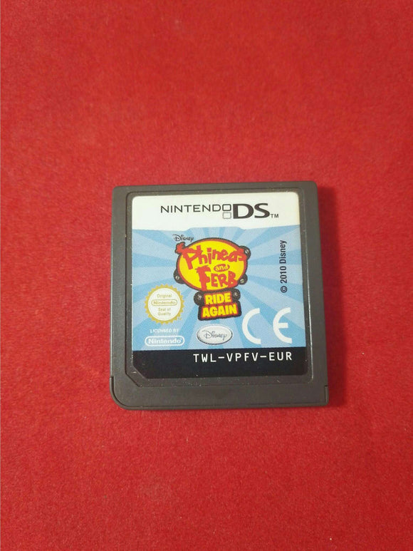 Phineas and Ferb Ride Again Nintendo DS Game Cartridge Only