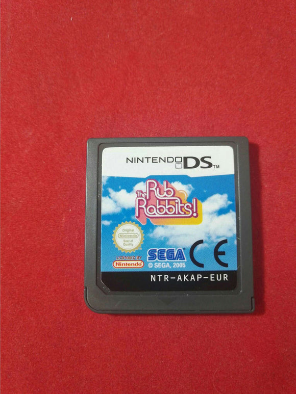 The Rub Rabbits Nintendo DS Game Cartridge Only