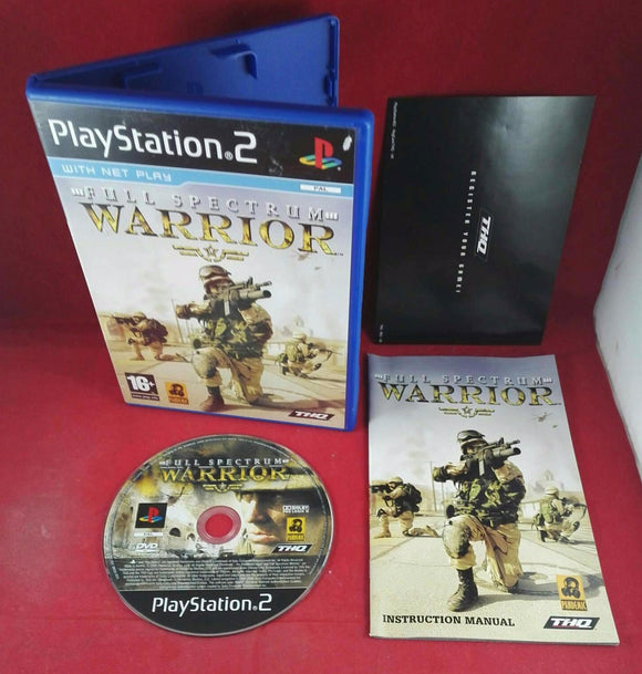 Full Spectrum Warrior Sony Playstation 2 (PS2) Game